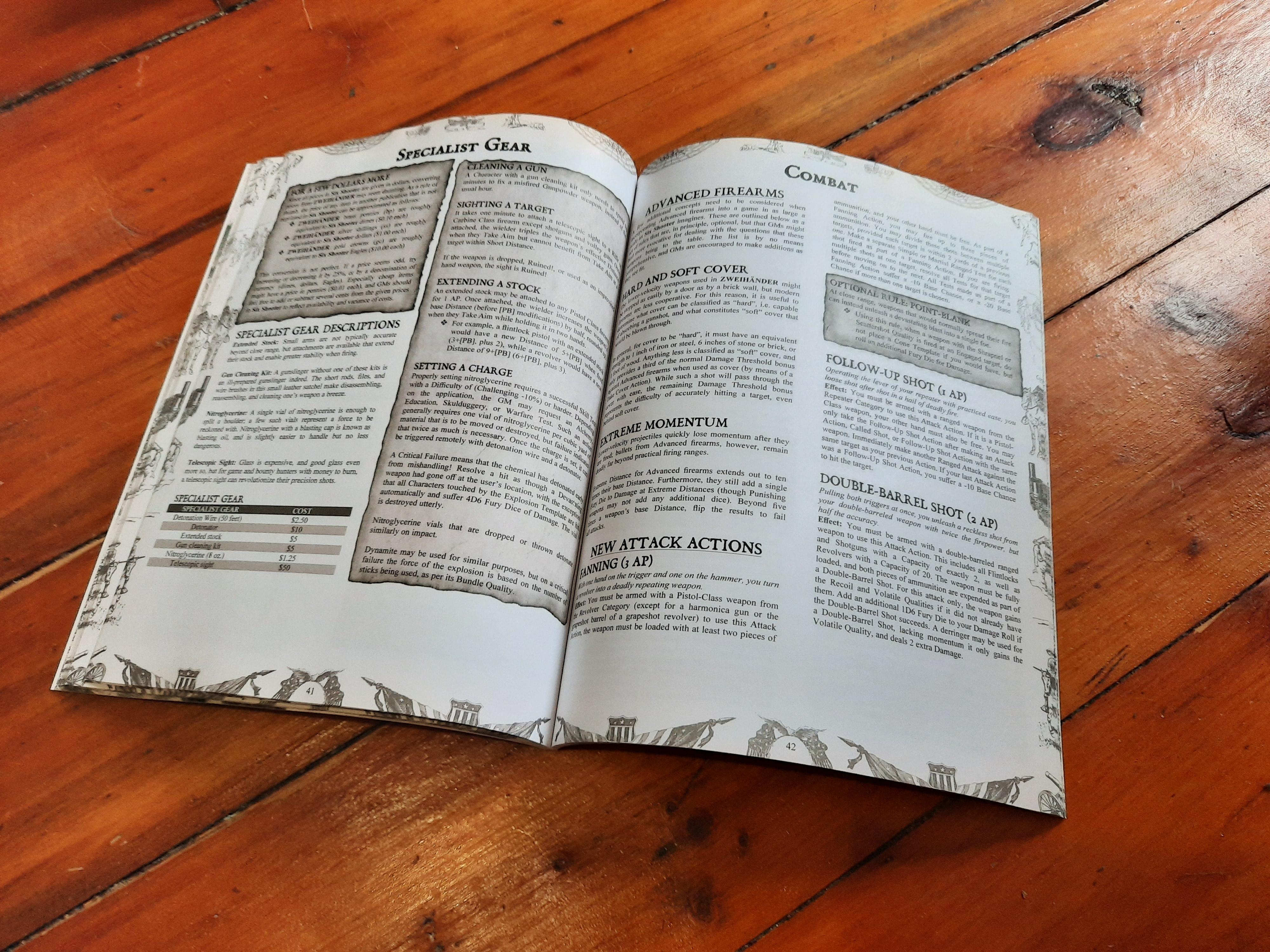 Print-on-demand inside sample