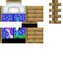 Can we pretend that airplanes in the night sky are like shooting stars? - I could really use a wish right now, wish right now, wish right now Minecraft Mob Skin