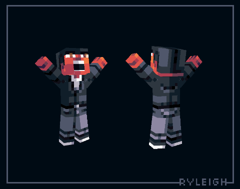 Quick! Get the boss his coffee! Minecraft Skin