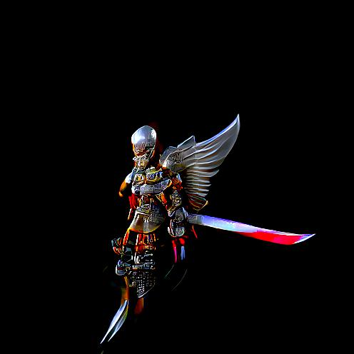 A Character Design of A Angel Warrior with it's Sword of Divines , HDR , Rendered in Detailed Engine , Rendered in Super sharp Engine , Details as imagined by Kianne