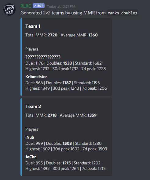 alt RLRC-teamgen