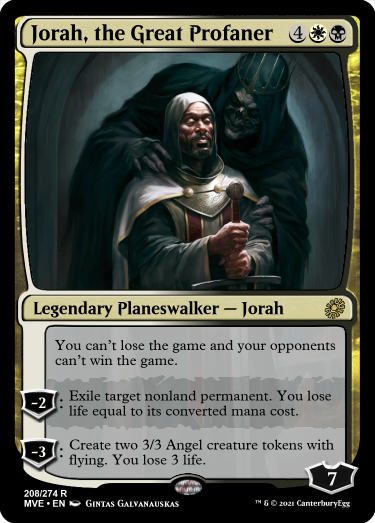 honestly more than a little mad he doesn't diabolic tutor, with that art