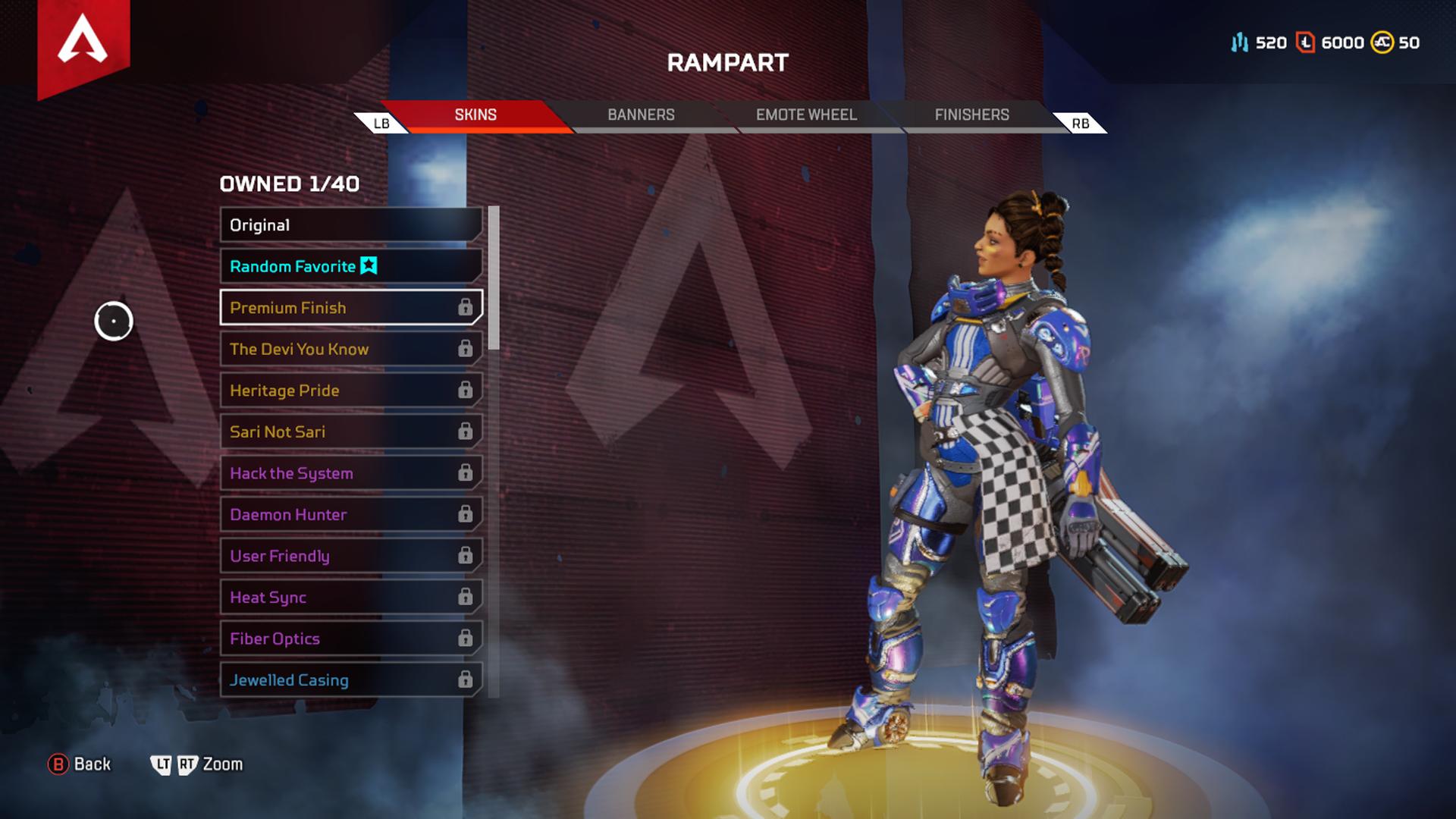 apex legends rampart skins