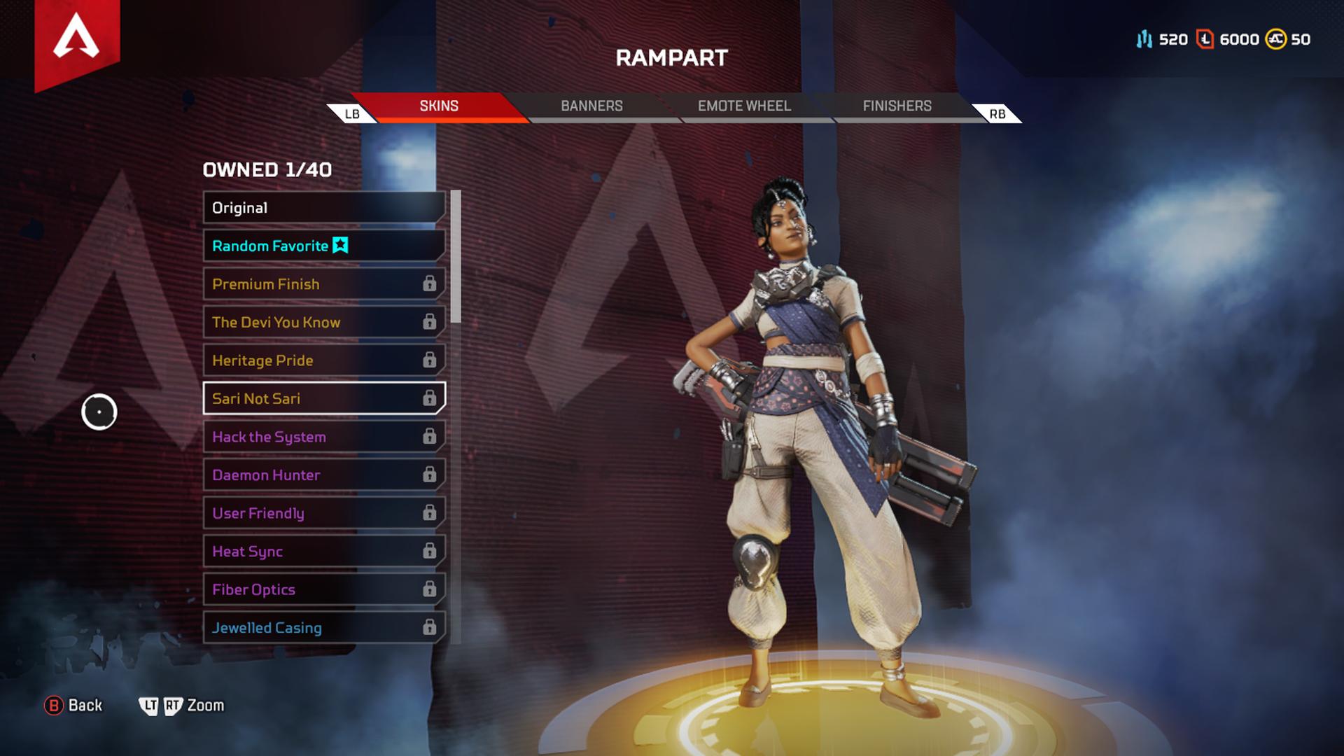 apex legends legendary skins