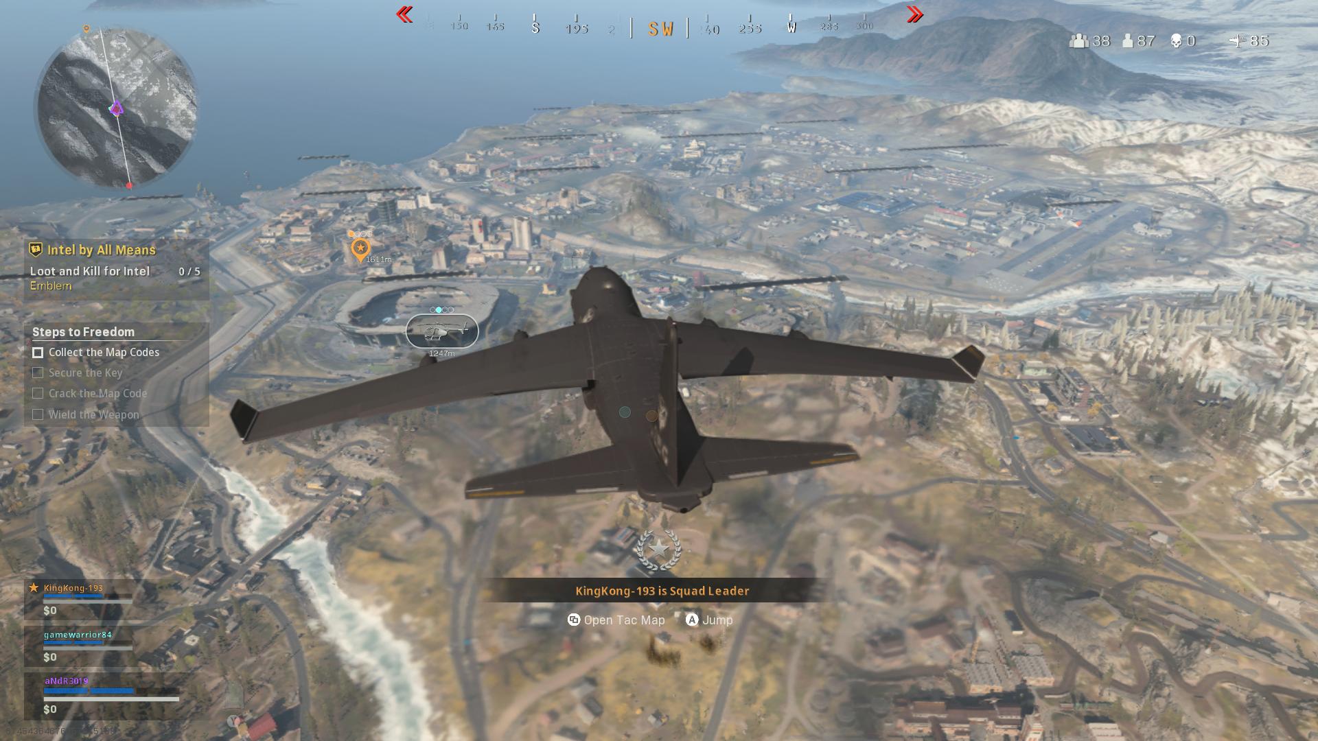 Cod Warzone Black Ops evento