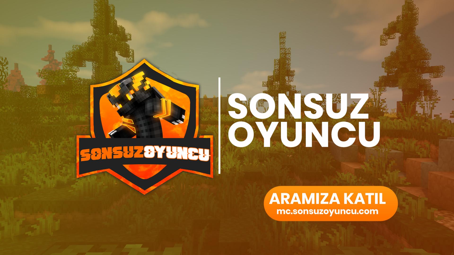 MC.SONSUZOYUNCU.COM 11 Ekim 2020 16:00'da AKTİF!
