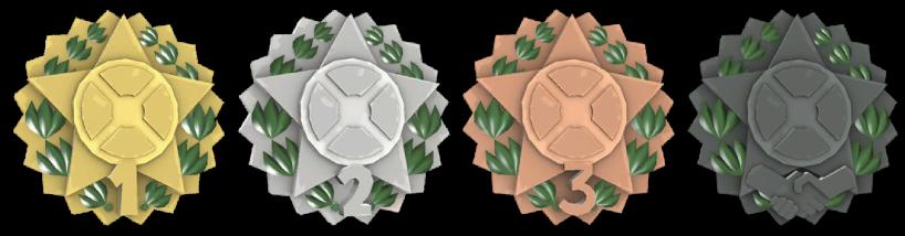 FBTF Cup Medals