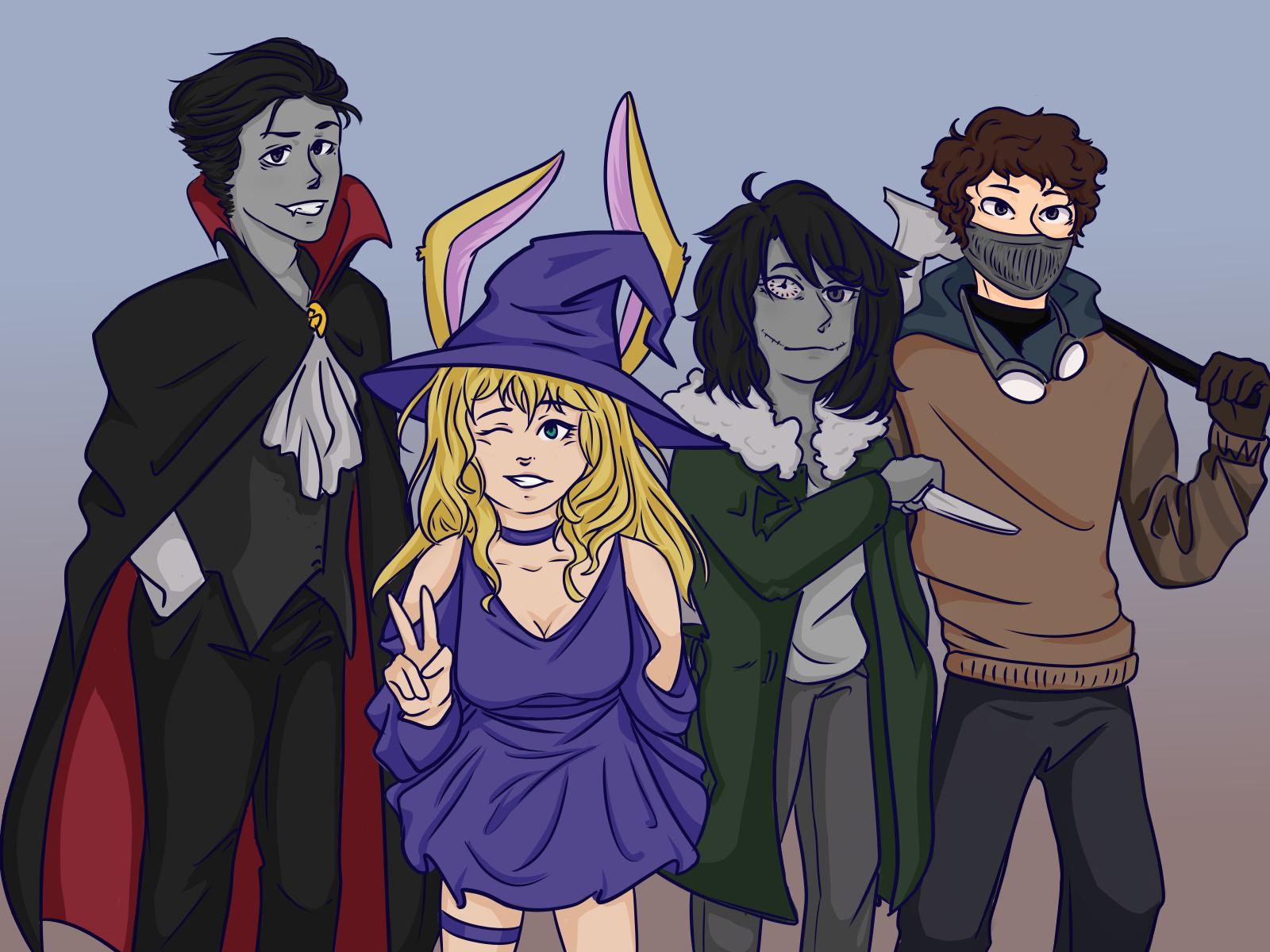 Halloween en Black Lux