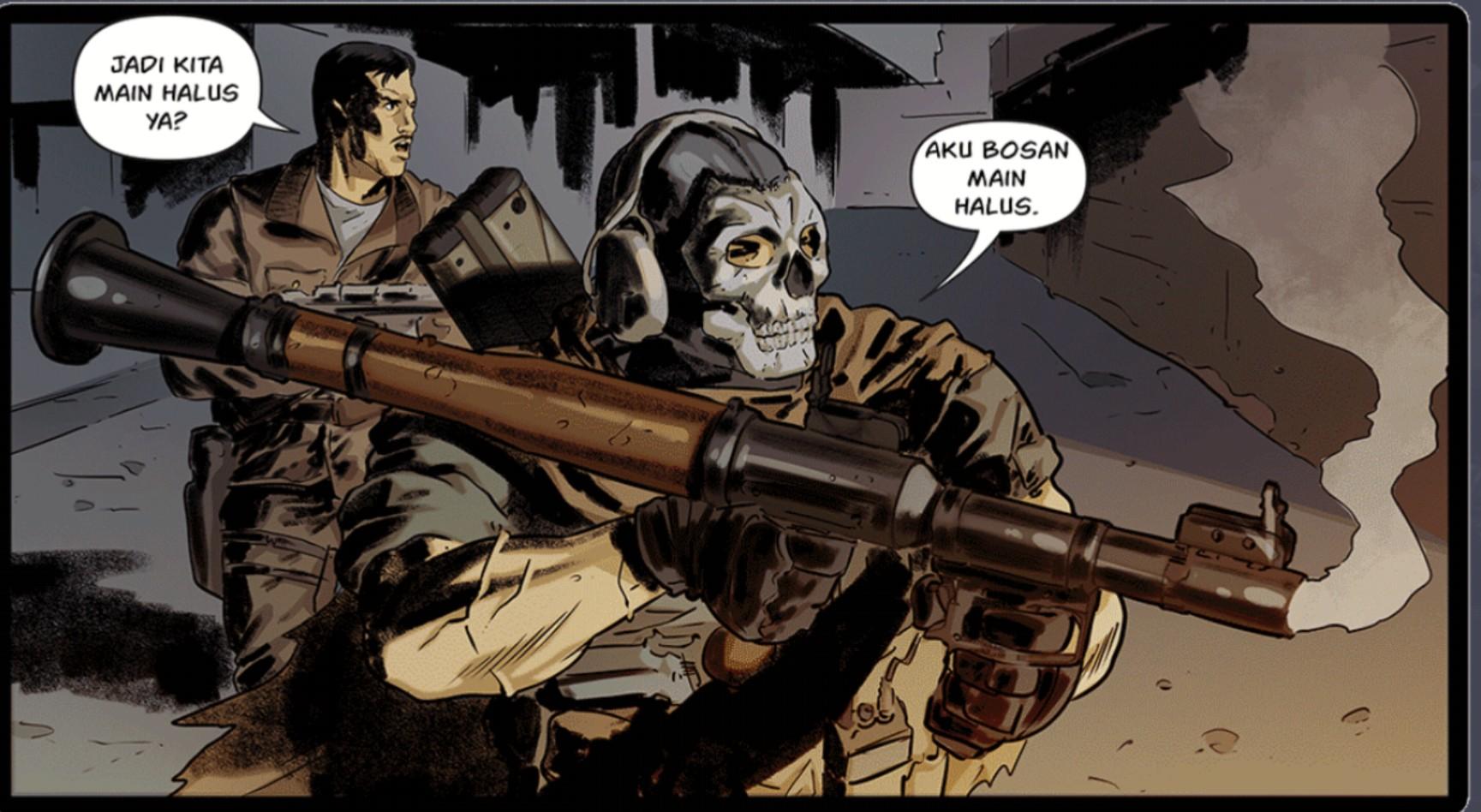 RPG7 di Comic CODM