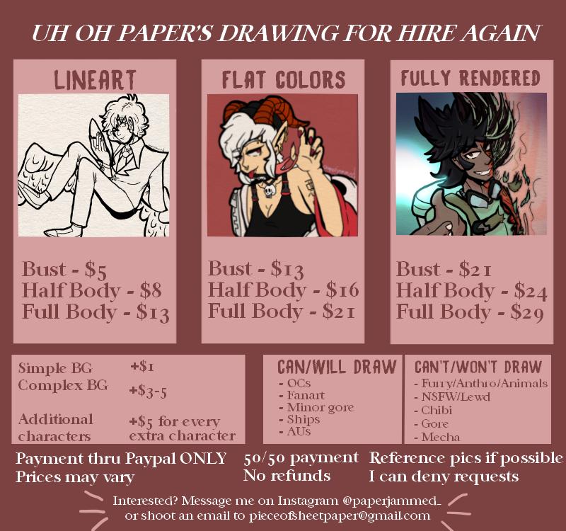[Discord-Artist]: paperjammed#7010
