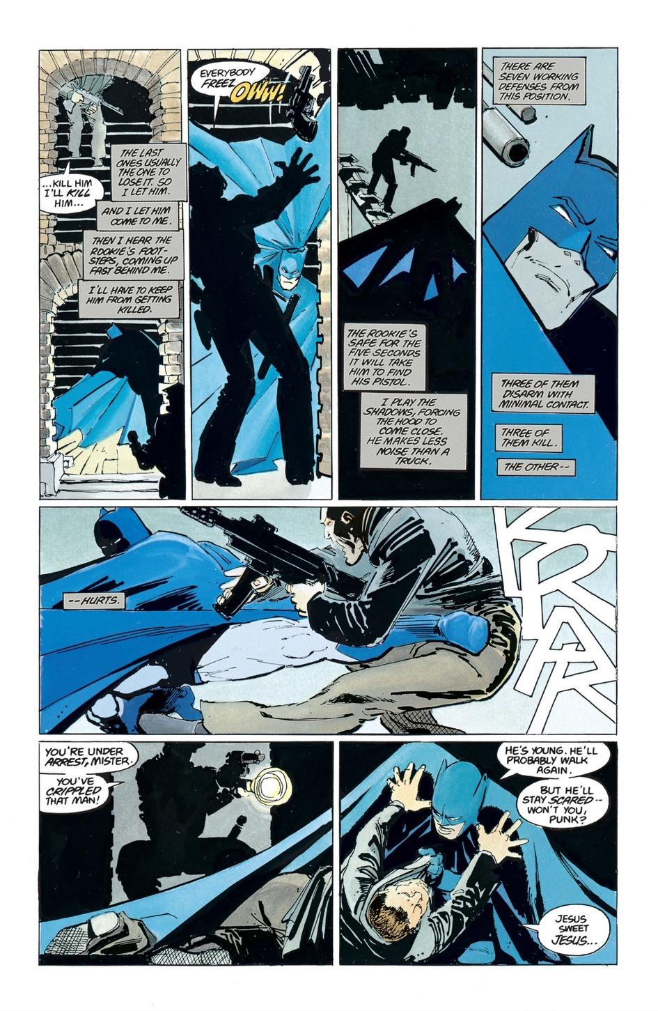 Psychology of Bruce Wayne TKDR