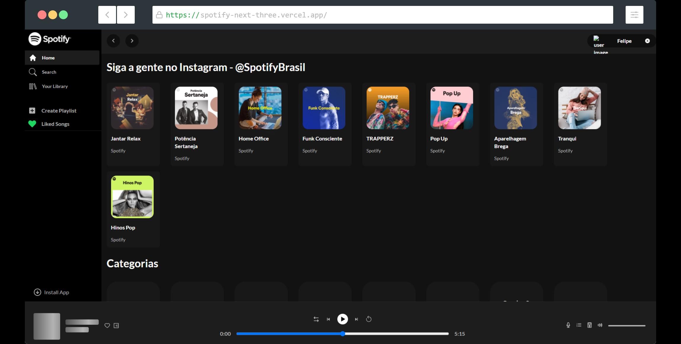 Spotify Clone