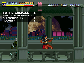 Streets of Rage: DC Infiltrators Snapshotarlington