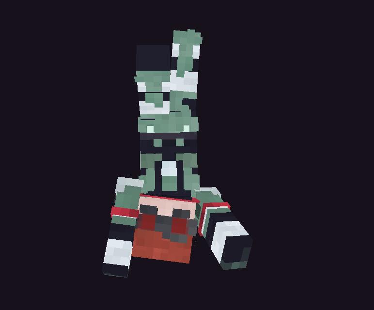Horizon - Apex Legends Minecraft Skin