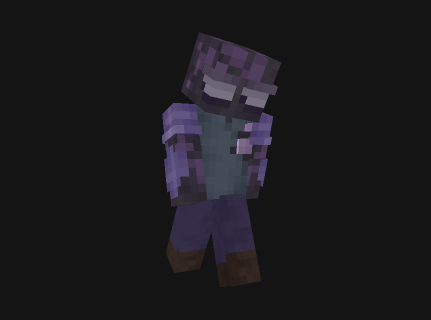 He Probably Needs More Sunlight Minecraft Skin