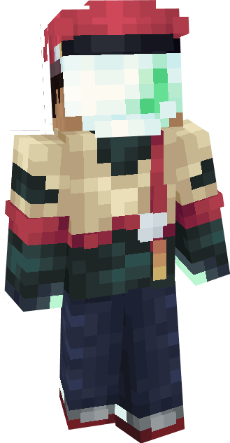 Cavelight - CONIDAE Character Thing Minecraft Skin