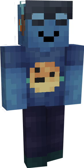 fishstack in roblox Minecraft Skin