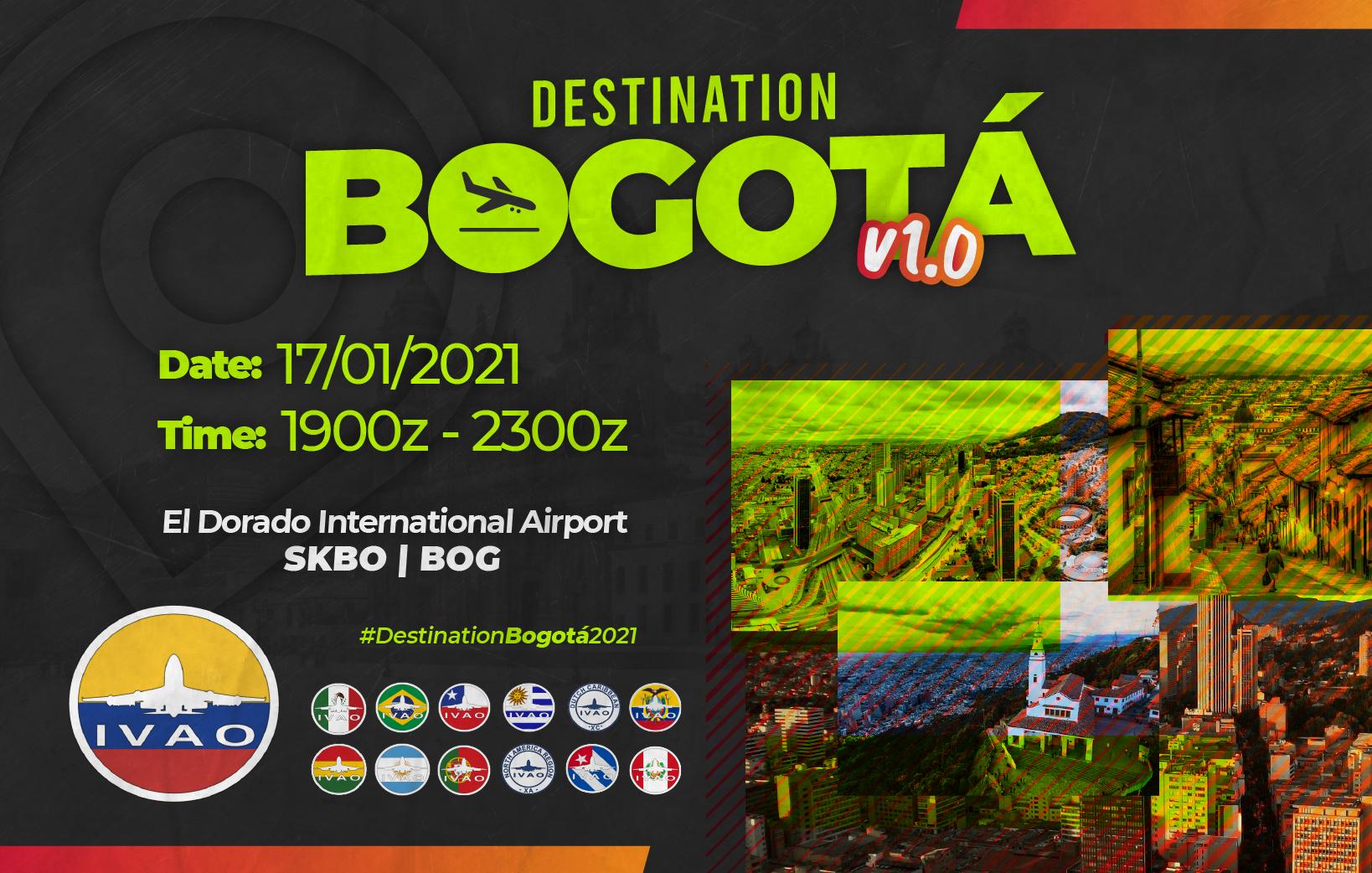 [CO+AR+BO+BR+CL+CU+EC+PT+PE+MX+UY+XA+XC] Destination Bogotá V1.0