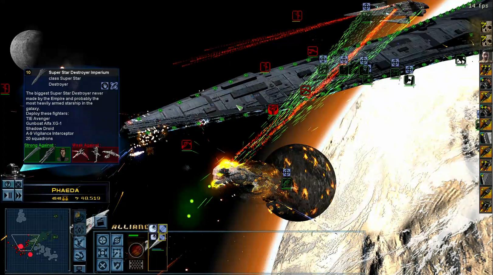 Star Wars Empire at War – FOC Alliance – Crazy improve