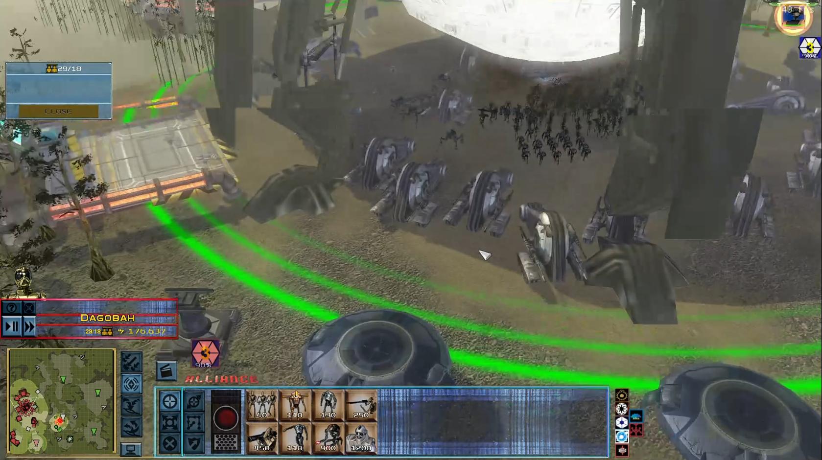 Star Wars Empire at War – FOC Alliance – Ground Commanders improve