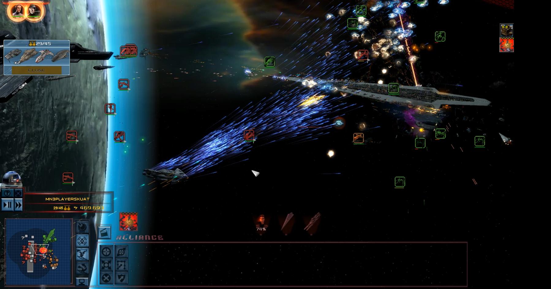 Star Wars Empire at War – FOC Alliance – Better Performance II
