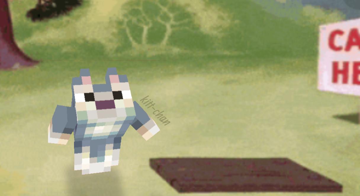possible chungus Minecraft Mob Skin