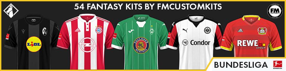 Bundesliga Custom Kits FM21