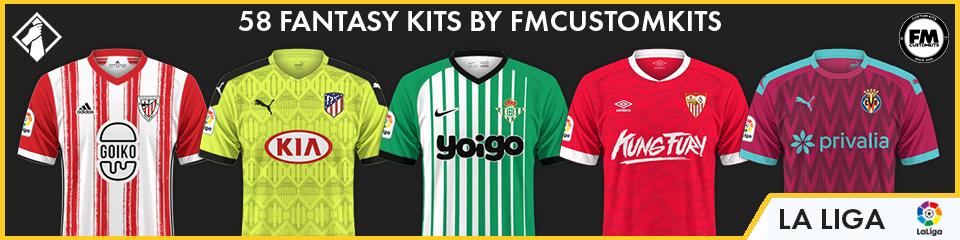 LaLiga Custom Kits FM21