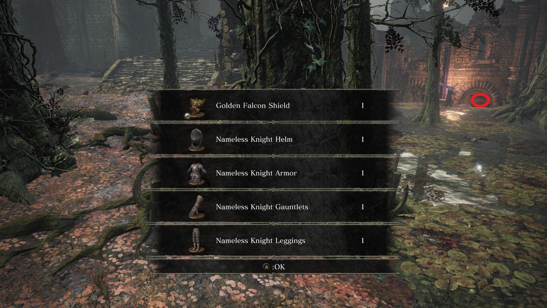 Nameless_Knight_Set_and_Golden_Falcon_Shield.jpg