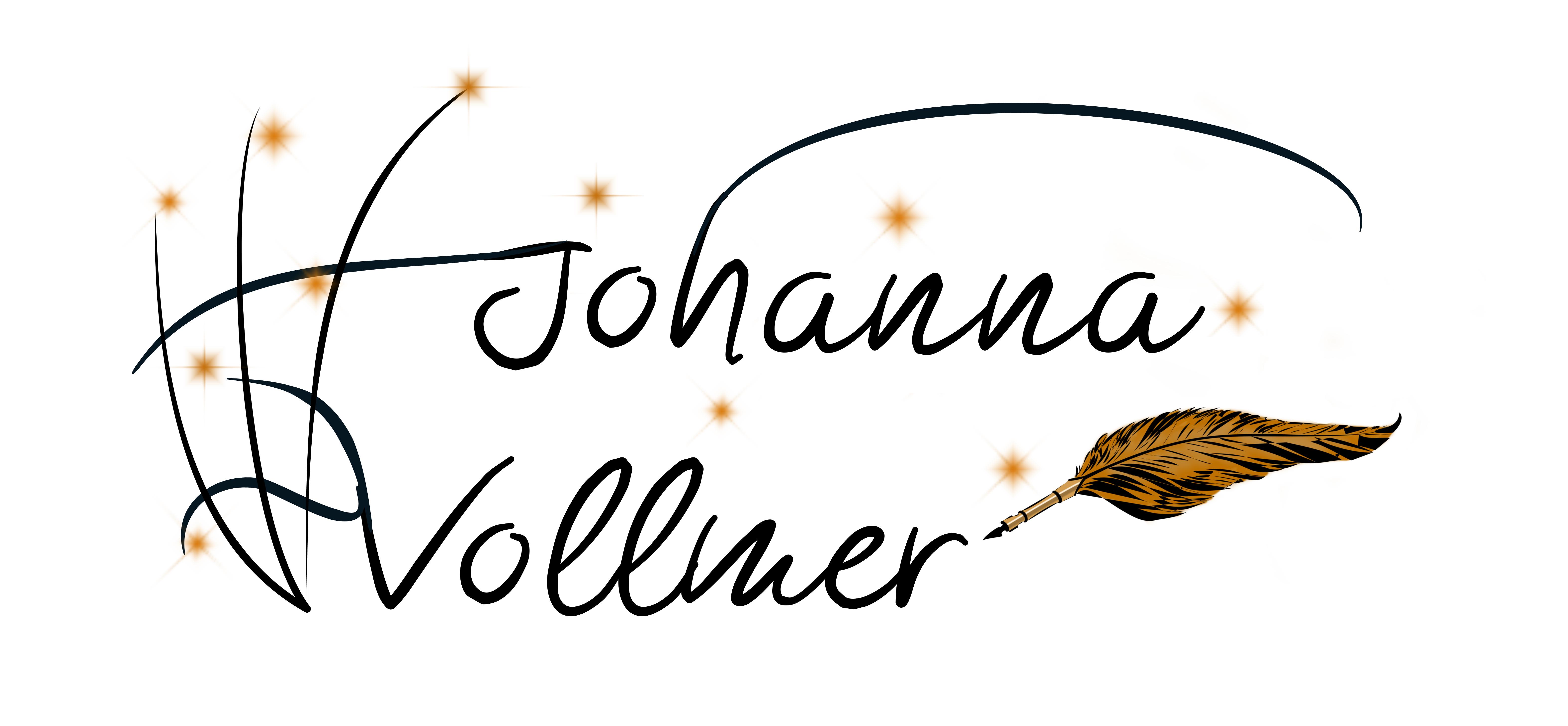 Schriftzug Johanna Vollmer