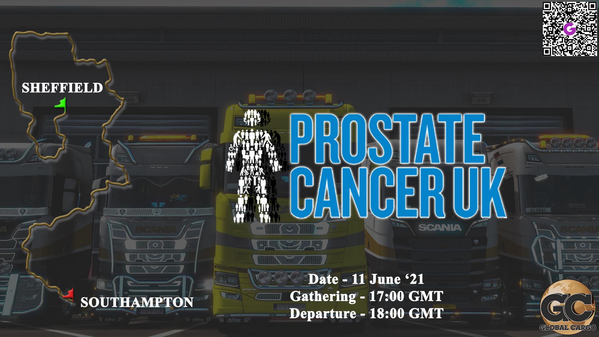 Global Cargo Prostate Cancer UK
