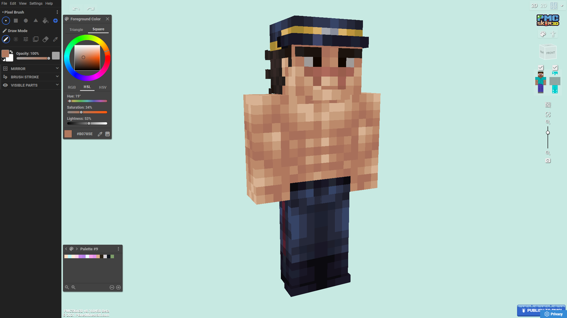 Saichi Sugimoto - Golden Kamuy (Request) Minecraft Skin