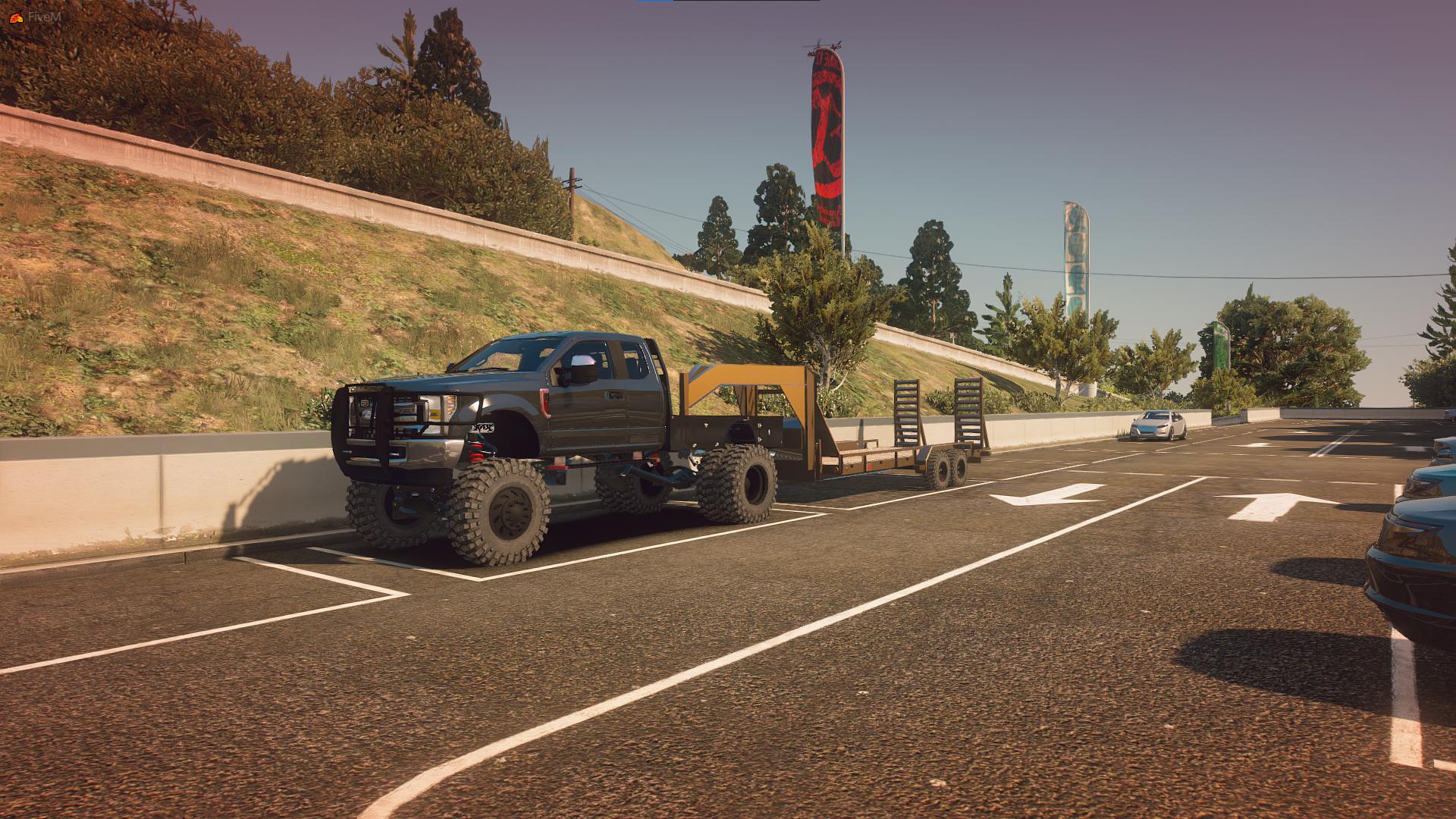 Offroad Truck & Trailer