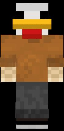 Refurbished Poultry Man (+ 4 Bonuses) [UPDATE COMING SOON] Minecraft Skin