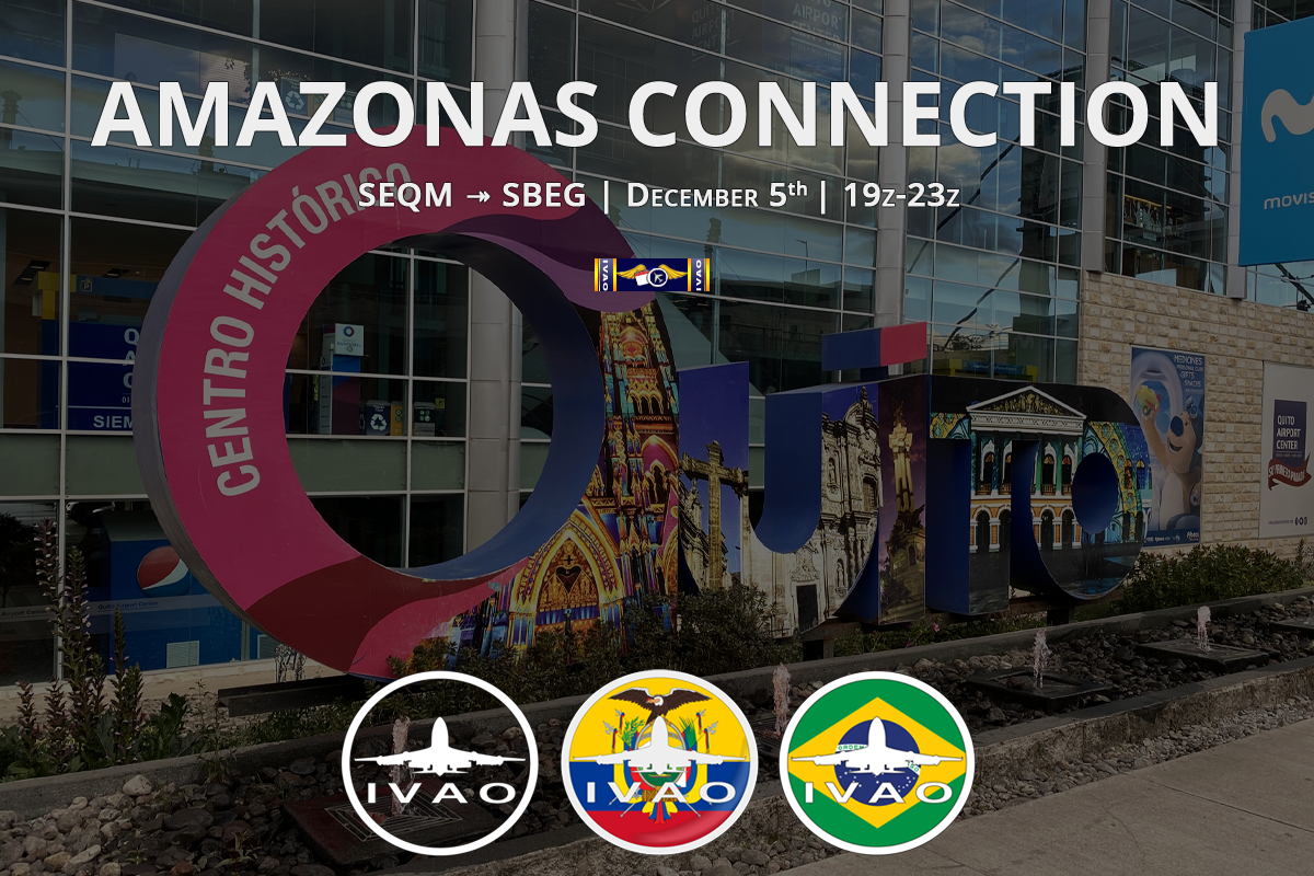 [HQ+EC+BR] Amazonas Connection