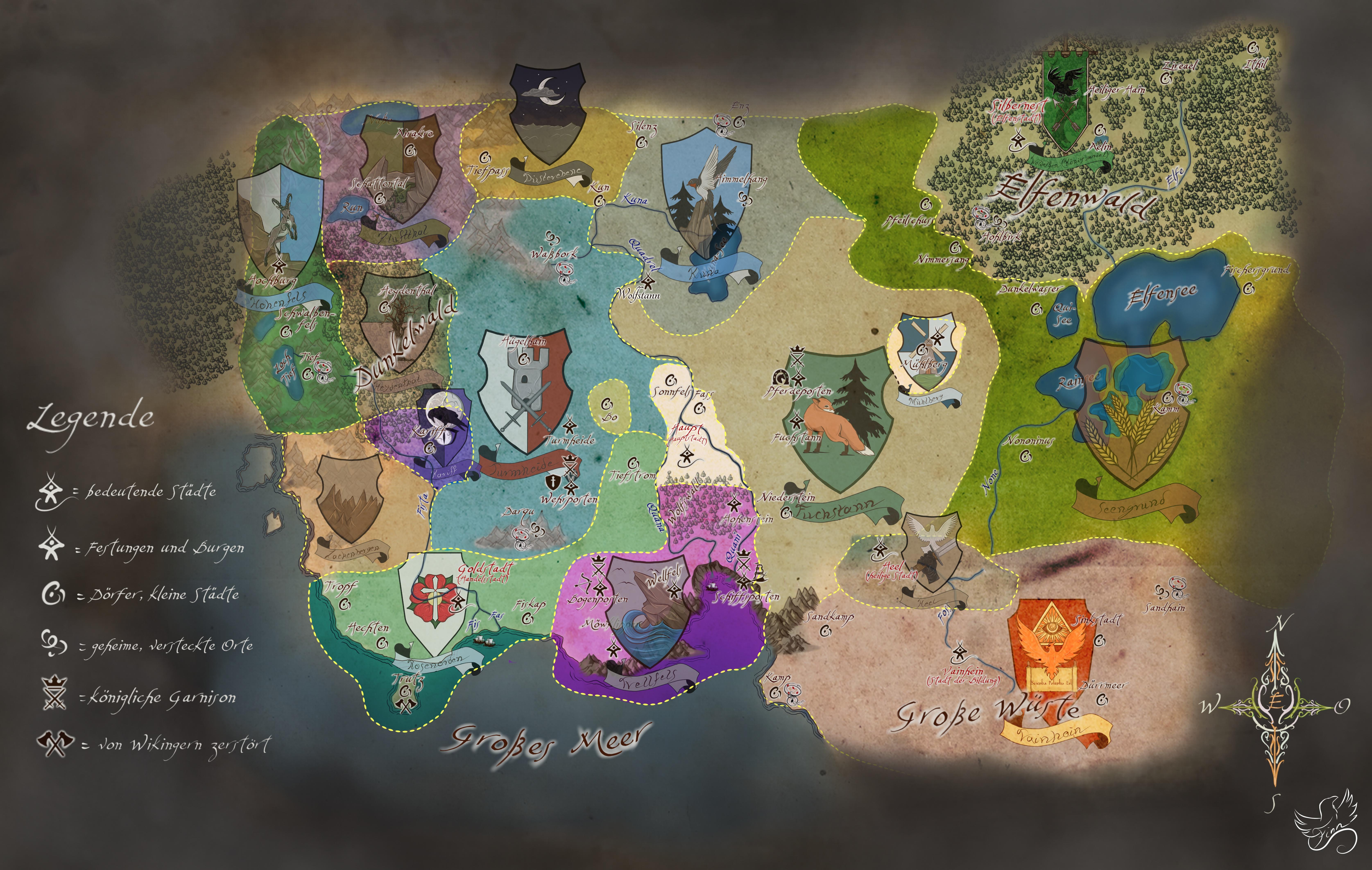 strategische Karte