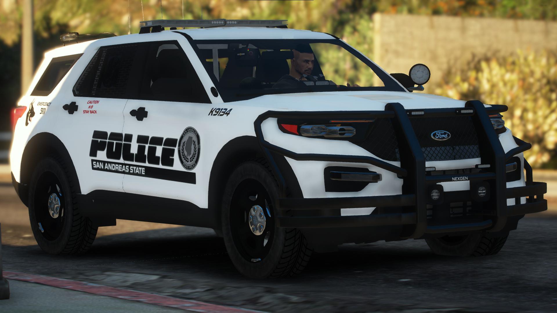 2020 Ford FPIU K9 Unit
