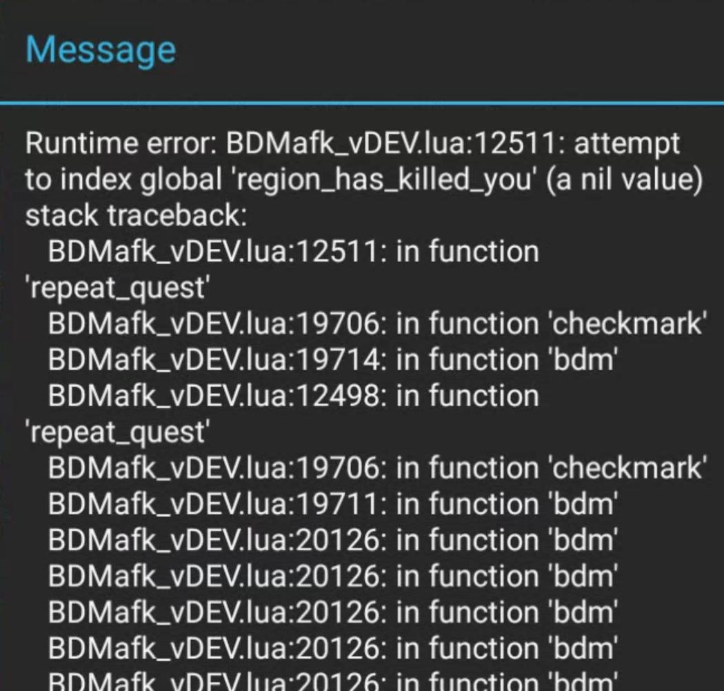This error happens quite alot