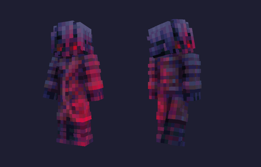 Chaos Drifter - 2121 contest entry Minecraft Skin