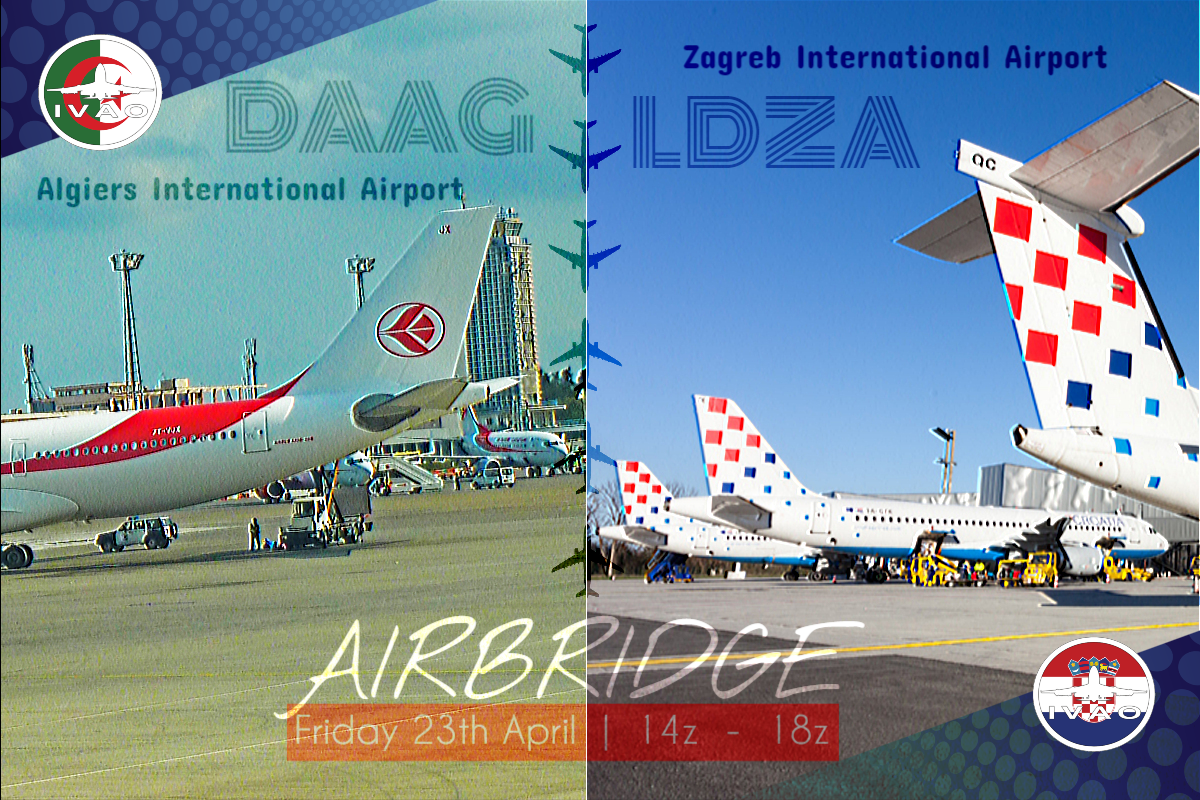 [DZ+HR] Algiers - Zagreb  Airbridge