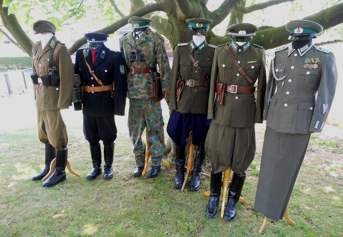 GDR police uniform Minecraft Skin