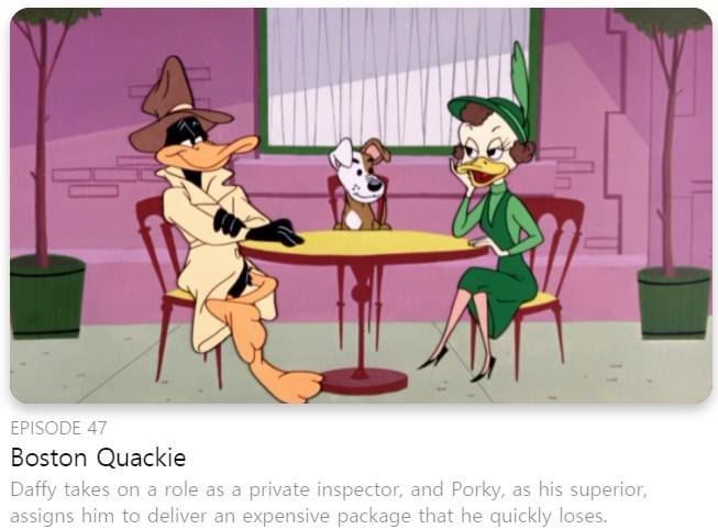 Boston Quackie on AppleTV