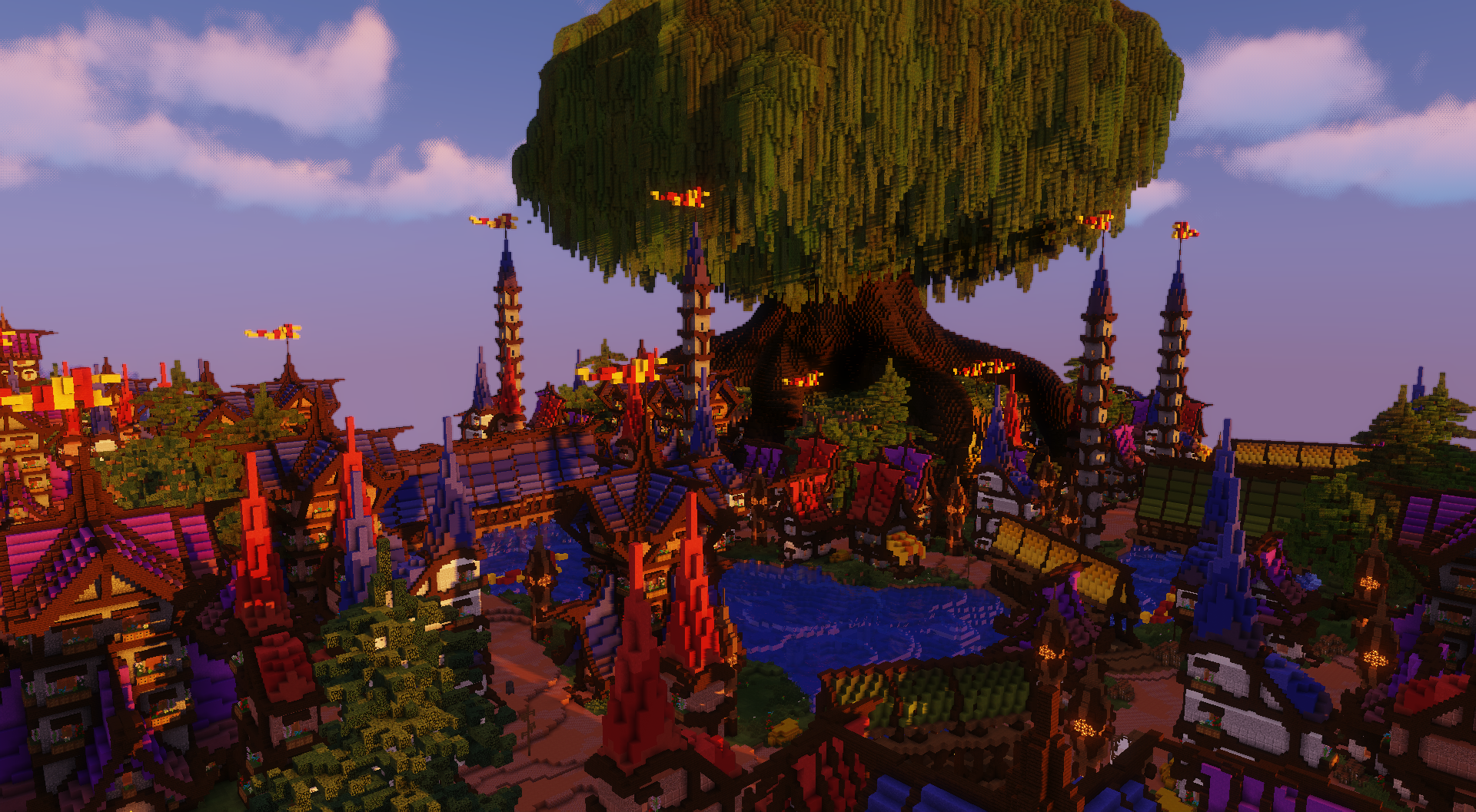 The Elven City of Falshire ~ A D'n'D Map & An 'FBC' Contest Entry Minecraft Map