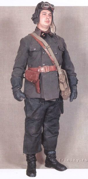 Pre-war uniform of a tanker of the USSR Minecraft Skin