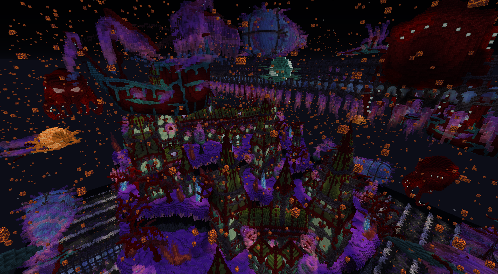 Spooky Space Sorcery - An 'Aderlyon' Trial Build Minecraft Map
