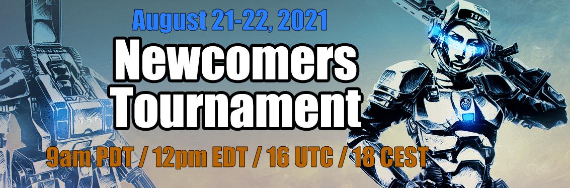 Newcomer Tournament Banner