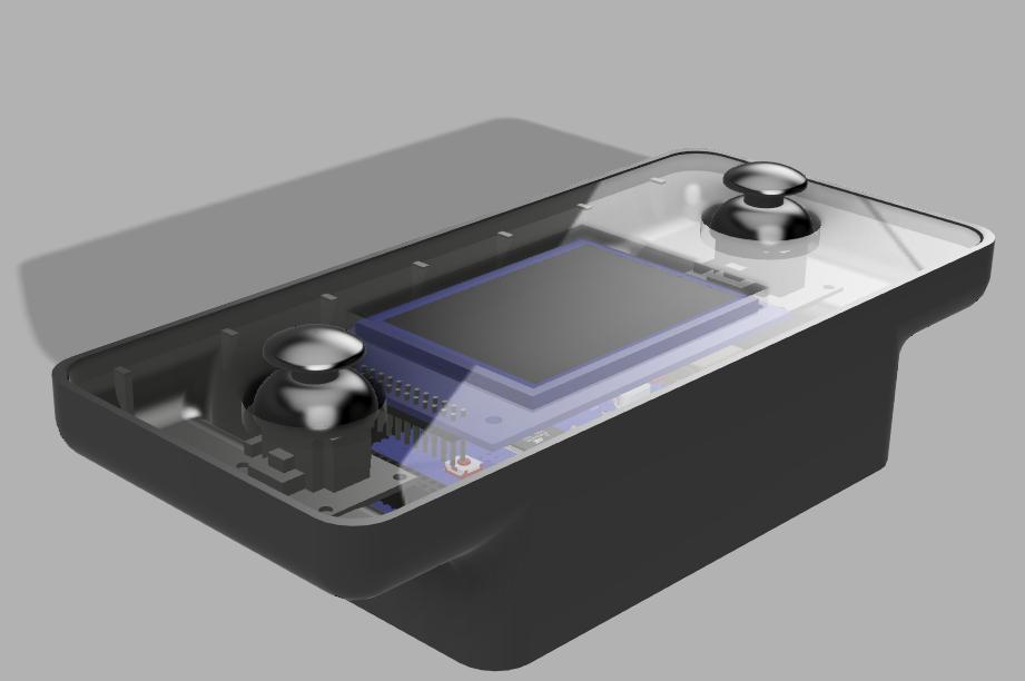 Modélisation 3D télécommande fin prototype
