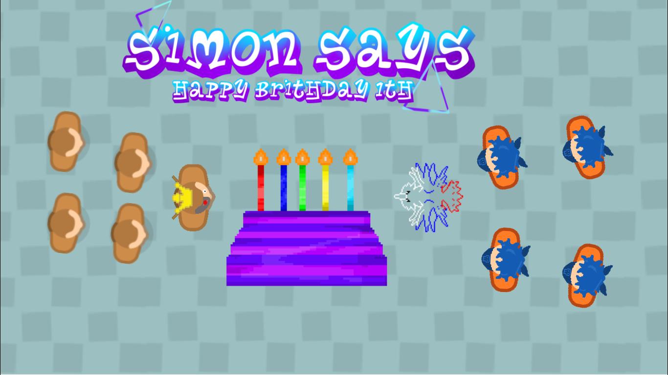 Simon Says (Happy birthday 1th)