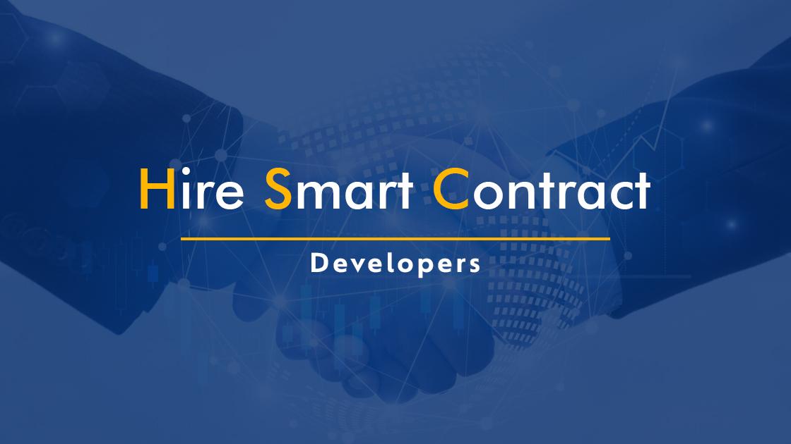 Hire Smart Contract Developer