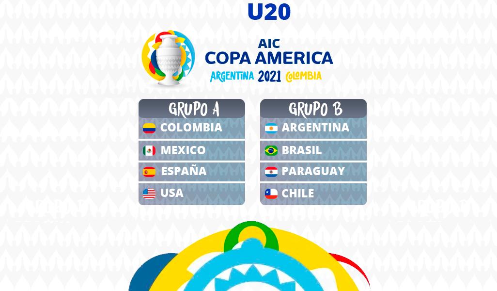 [AICv27] Horarios J1 & J2 de Copa América Colombia 2021 & J1 de Copa América Sub20 Argentina 2021 GRUPOSu20